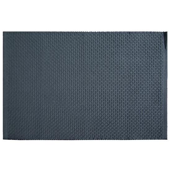 Jednokolorowa podkładka stołowa plaster miodu granatowa 33x48 cm - 33 X 48 cm - granatowy