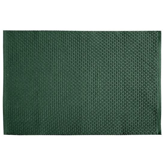 Jednokolorowa podkładka stołowa plaster miodu zielona 33x48 cm - 33 X 48 cm - ciemnozielony