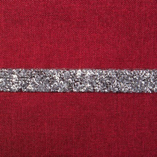 Czerwona nakładka na stół do jadalni 30x50 cm - 30 X 50 cm