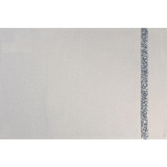 Kremowa nakładka na stół do jadalni 30x50 cm - 30 X 50 cm