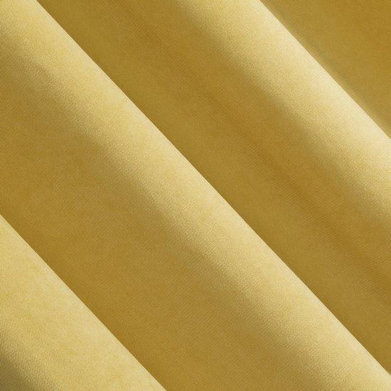 Zasłona jednokolorowa o strukturze welwetu 140x250 - 140 X 250 cm