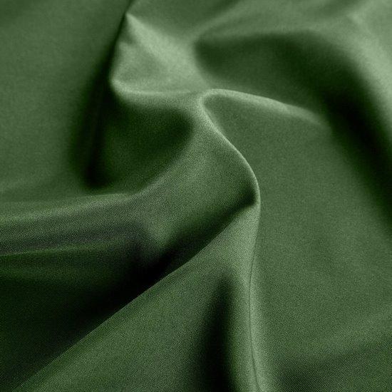 Zasłona gładka CIEMNOZIELONA przelotki 140x250 cm - 140x250 - Zielony