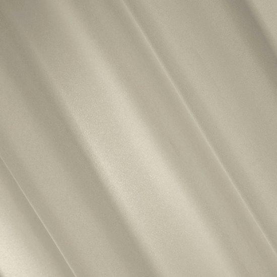 Zasłona gładka BEŻOWA przelotki 140x250 cm - 140x250