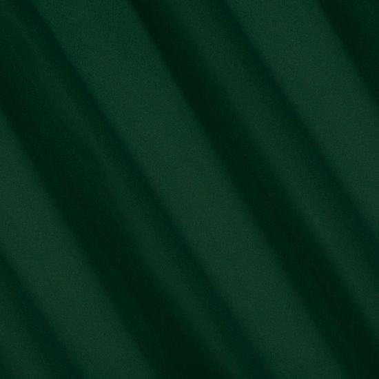 Ciemnozielona zasłona zaciemniająca 135x250 przelotki - 135x250