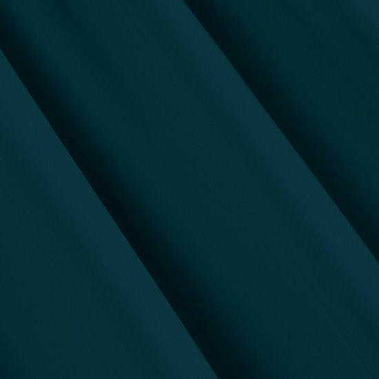 Zasłona zaciemniająca w kolorze petrol 135x270 na taśmie - 135x270 - petrol