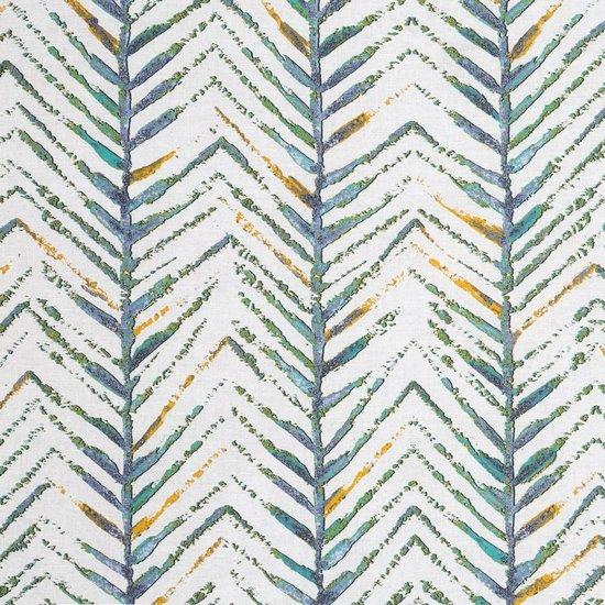 Komplet pościeli bawełnianej AURA 200x220 2szt 70x80 styl nowoczesny - 220x200 - musztardowy, szary, zielony, kremowy