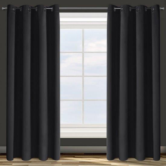 Zasłona z tkaniny zaciemniającej 140x250 Design 91 - 135 X 250 cm