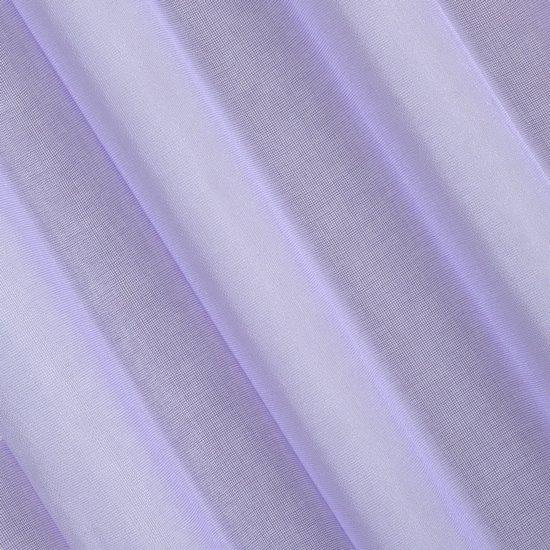 Półprzejrzysta fioletowa firana na przelotkach 140x250 - 140 X 250 cm