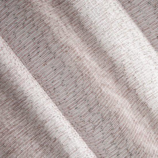 Różowa zasłona o strukturze szenilu na przelotkach 140x250 cm - 140x250 - różowy