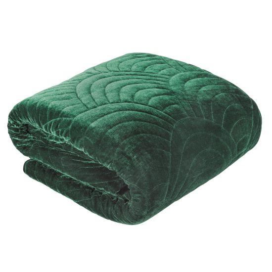 Ekskluzywna narzuta do sypialni pikowana - mój wybór Eva Minge -zieleń 170x210 cm - 170 X 210 cm