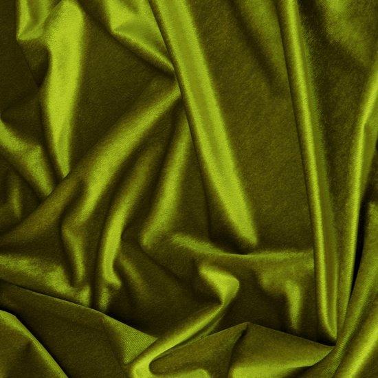 Zasłona WELWETOWA na przelotkach OLIWKOWA 140x250 - 140x250 - oliwkowy