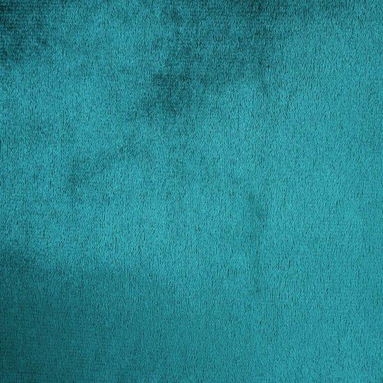 Zasłona WELWETOWA na przelotkach TURKUSOWA 140x250 - 140x250