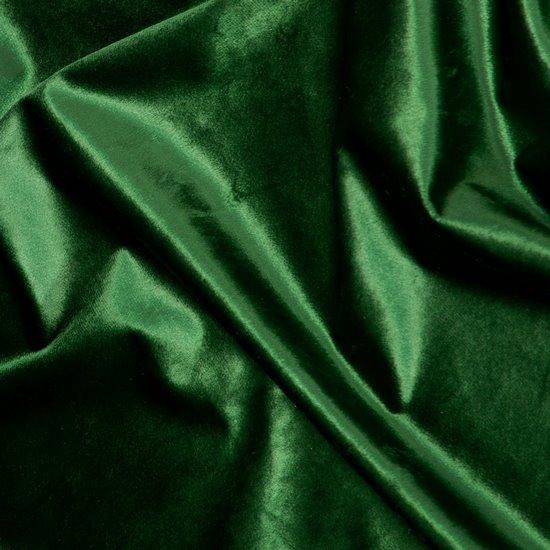 Zasłona WELWETOWA na taśmie marszczącej ZIELONA 140x270cm - 140x270 - zielony