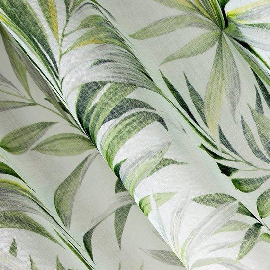 Zasłona w liście palmowe nancy na przelotkach 140x250 - 140 X 250 cm