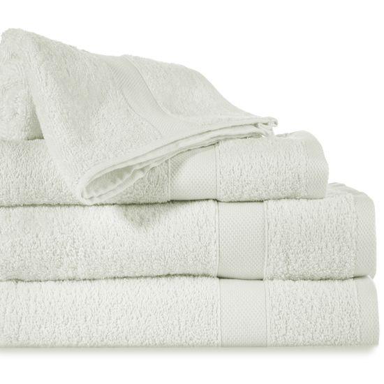 Miękki chłonny ręcznik kąpielowy kremowy 50x90 - 50 X 90 cm