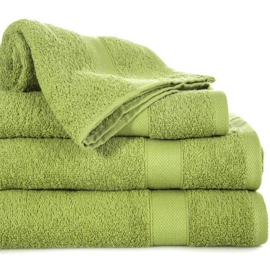 Miękki chłonny ręcznik kąpielowy oliwkowy 70x140 - 70 X 140 cm - oliwkowy