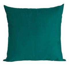 Poszewka dekoracyjna na poduszkę 70 x 80 kolor turkusowy - 70 X 80 cm - petrol 1