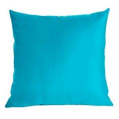 Poszewka dekoracyjna na poduszkę 70 x 80 kolor turkusowy - 70 X 80 cm - turkusowy 1