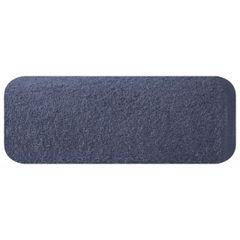 Ręcznik z bawełny gładki 70x140cm - 70 X 140 cm - granatowy 2
