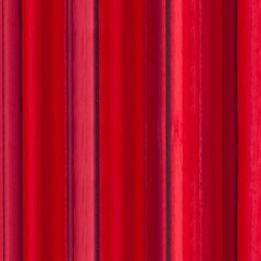 Oryginalna czerwona dwuwarstwowa zasłona na przelotkach - 140 X 250 cm - Czerwony 2