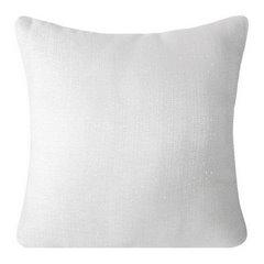 Poszewka na poduszkę gładka biała 40 x 40 cm  - 40 X 40 cm - biały 1