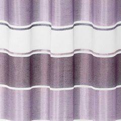 Zasłona poziome atłasowe pasy+organza odcienie fioletu przelotki 140x250cm - 140x250 - fioletowy 3