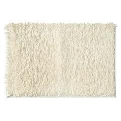 Biały dywan shaggy łazienkowy 50x70 cm - 50 x 70 cm - biały 2