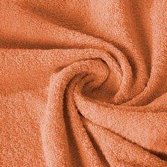 Ręcznik z bawełny gładki pomarańczowy 50x90cm - 50 X 90 cm - pomarańczowy 10