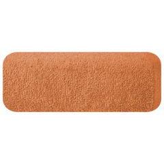Ręcznik z bawełny gładki pomarańczowy 50x90cm - 50 X 90 cm - pomarańczowy 2