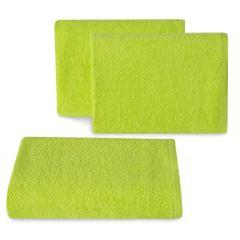 Ręcznik z bawełny gładki sałata 50x90cm - 50 X 90 cm - zielony 1