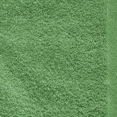 Ręcznik z bawełny gładki zielony 50x90cm - 50 X 90 cm - butelkowy zielony 8