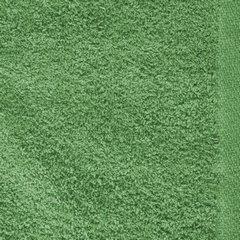 Ręcznik z bawełny gładki zielony 50x90cm - 50 X 90 cm - butelkowy zielony 9
