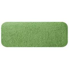 Ręcznik z bawełny gładki zielony 50x90cm - 50 X 90 cm - butelkowy zielony 2