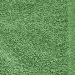 Ręcznik z bawełny gładki zielony 50x90cm - 50 X 90 cm - butelkowy zielony 4
