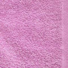 Ręcznik z bawełny gładki różowy 50x90cm - 50 X 90 cm - różowy 9