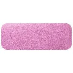 Ręcznik z bawełny gładki różowy 50x90cm - 50 X 90 cm - różowy 2