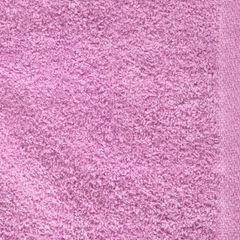 Ręcznik z bawełny gładki różowy 50x90cm - 50 X 90 cm - różowy 4