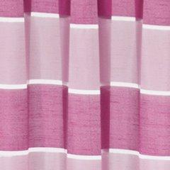 Zasłona poziome pasy atłas różowa 140x250cm - 140x250 - różowy 3
