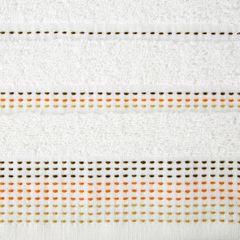 Ręcznik z bawełny z ozdobnym stebnowaniem 50x90cm - 50 X 90 cm - kremowy 4