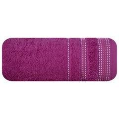 Ręcznik kąpielowy ze stebnowaniem 70x140cm - 70 X 140 cm - fioletowy 2