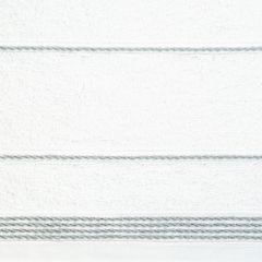 Ręcznik z bawełny ze sznurkowym zdobieniem 50x90cm - 50 X 90 cm - biały 9