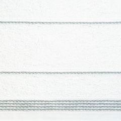 Ręcznik z bawełny ze sznurkowym zdobieniem 70x140cm - 70 X 140 cm - biały 9