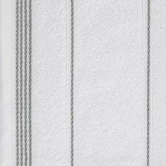 Ręcznik z bawełny ze sznurkowym zdobieniem 70x140cm - 70x140 - biały 3