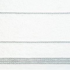 Ręcznik z bawełny ze sznurkowym zdobieniem 70x140cm - 70 X 140 cm - biały 4