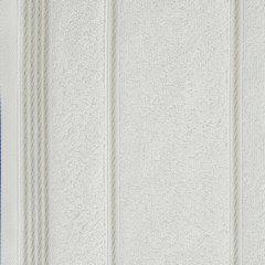 Ręcznik z bawełny ze sznurkowym zdobieniem 50x90cm - 50 X 90 cm - kremowy 7