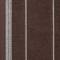 Ręcznik z bawełny ze sznurkowym zdobieniem 30x50cm - 30 X 50 cm - brązowy 9