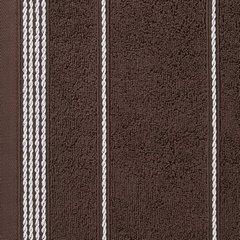 Ręcznik z bawełny ze sznurkowym zdobieniem 30x50cm - 30 X 50 cm - brązowy 10