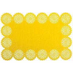 Filcowa podkładka stołowa bieżnik żółty 30x120 cm - 30 X 120 cm - żółty 1
