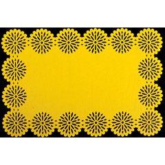 Filcowa podkładka stołowa bieżnik żółty 30x120 cm - 30 X 120 cm - żółty 2