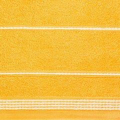 Ręcznik z bawełny ze sznurkowym zdobieniem 50x90cm - 50 X 90 cm - żółty 6